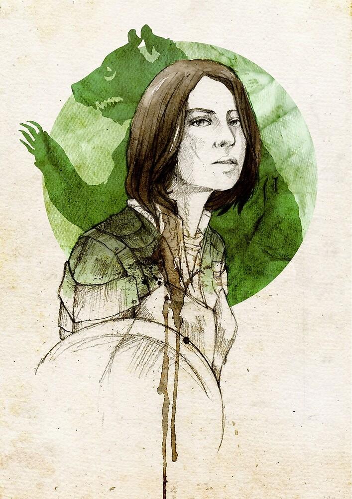 Dacey Mormont by Elia Mervi