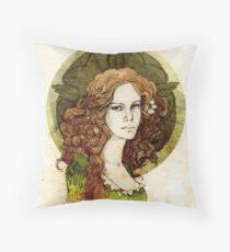 Margaery Tyrell Throw Pillow