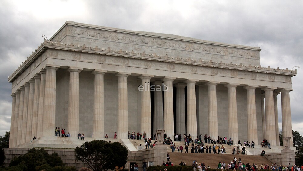 Lincoln Memorial by elisab