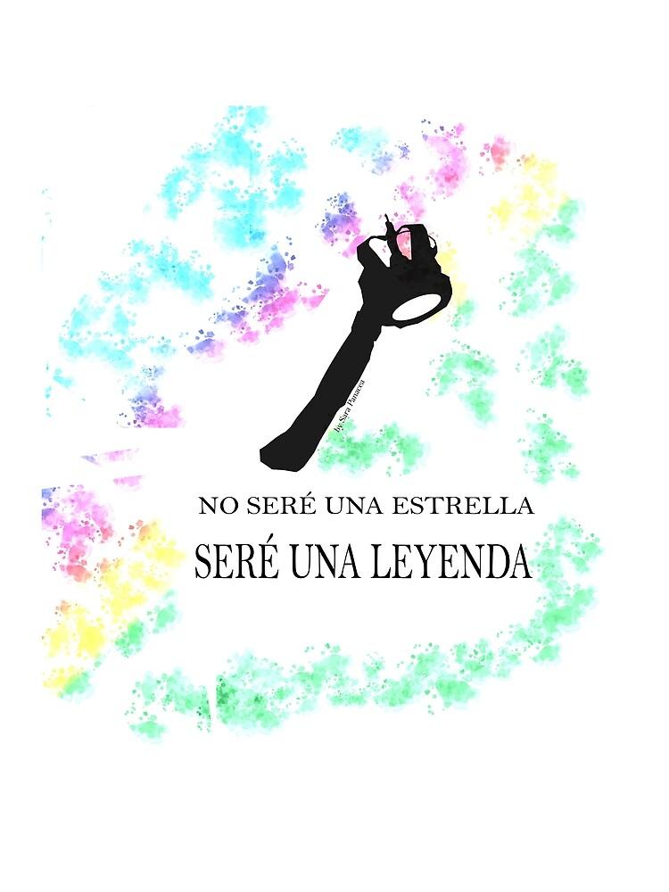 FREDDIE MERCURY QUEEN FRASE LEYENDA by SaraPanacea