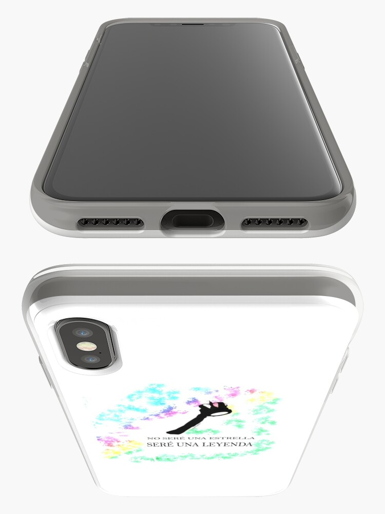 Vista alternativa de Funda y vinilo para iPhone FREDDIE MERCURY QUEEN FRASE LEYENDA