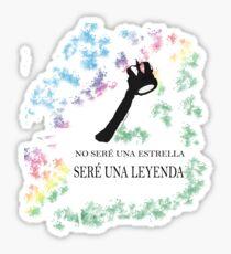 FREDDIE MERCURY QUEEN FRASE LEYENDA Pegatina