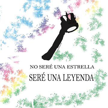 FREDDIE MERCURY QUEEN FRASE LEYENDA de SaraPanacea