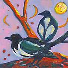 Magpies - Two For Joy by ClareWassermann