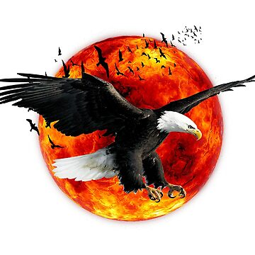 eagle fire  by mounir1239