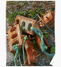 Rusty Anchors Poster