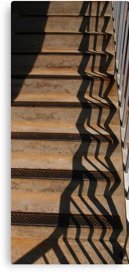 Shadow Play 9 by Richard G Witham
