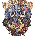Ganesh ( Transparent Back) by david swan