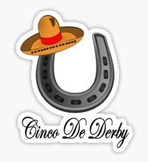 Kentucky Derby Party Sticker