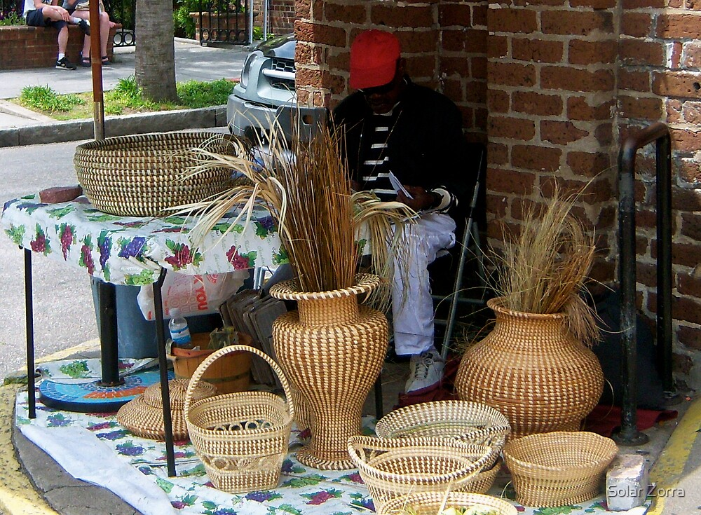 The rice basket weavers by Solar Zorra