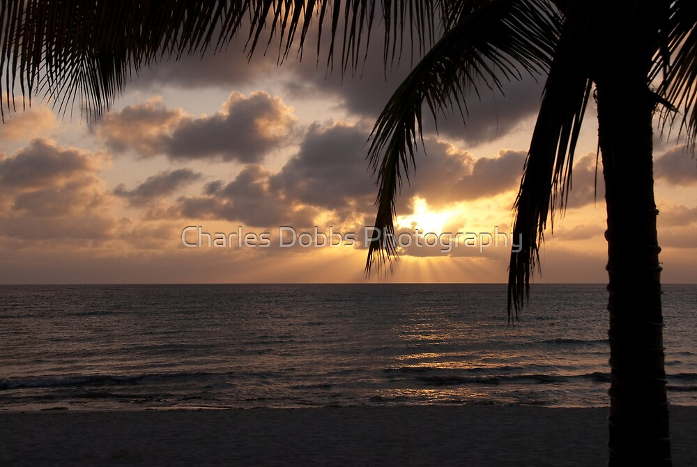 Cozumel Sunset by Charles Dobbs Photography