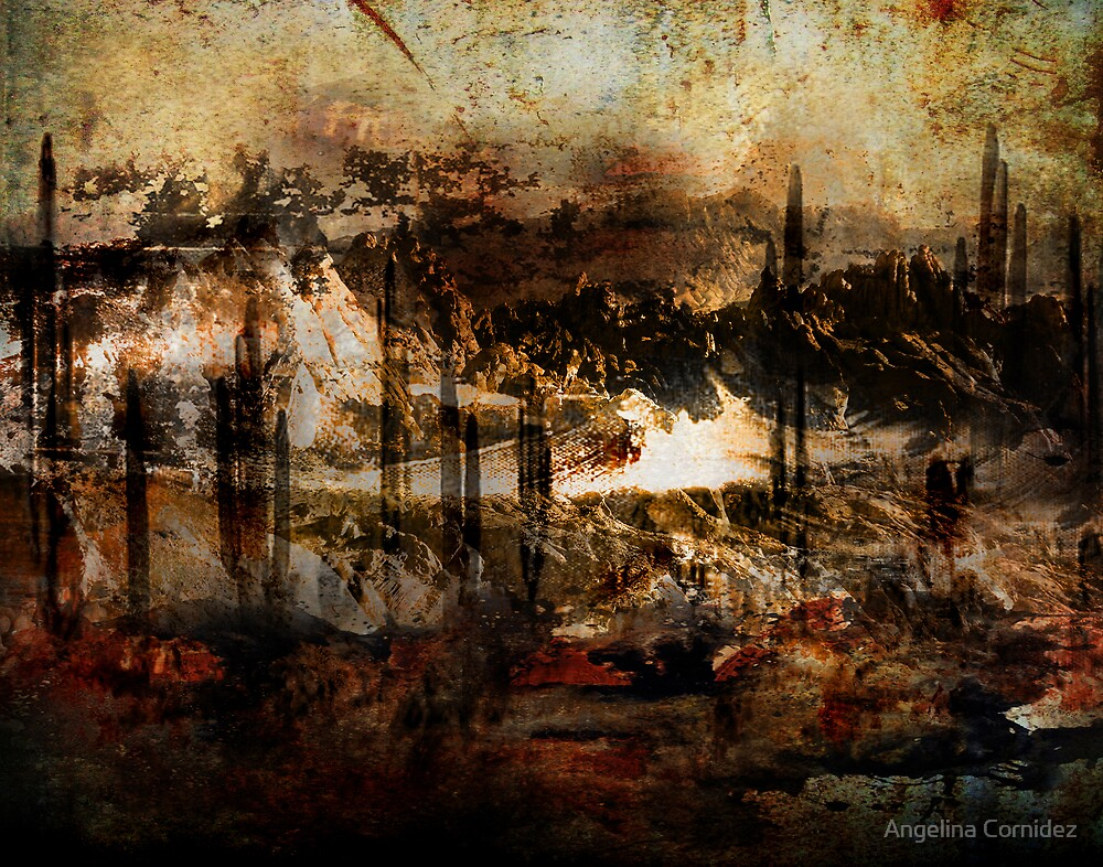 Abstract Desert 7 by Angelina Cornidez