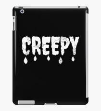 Creepy - Gothic gift iPad Case/Skin