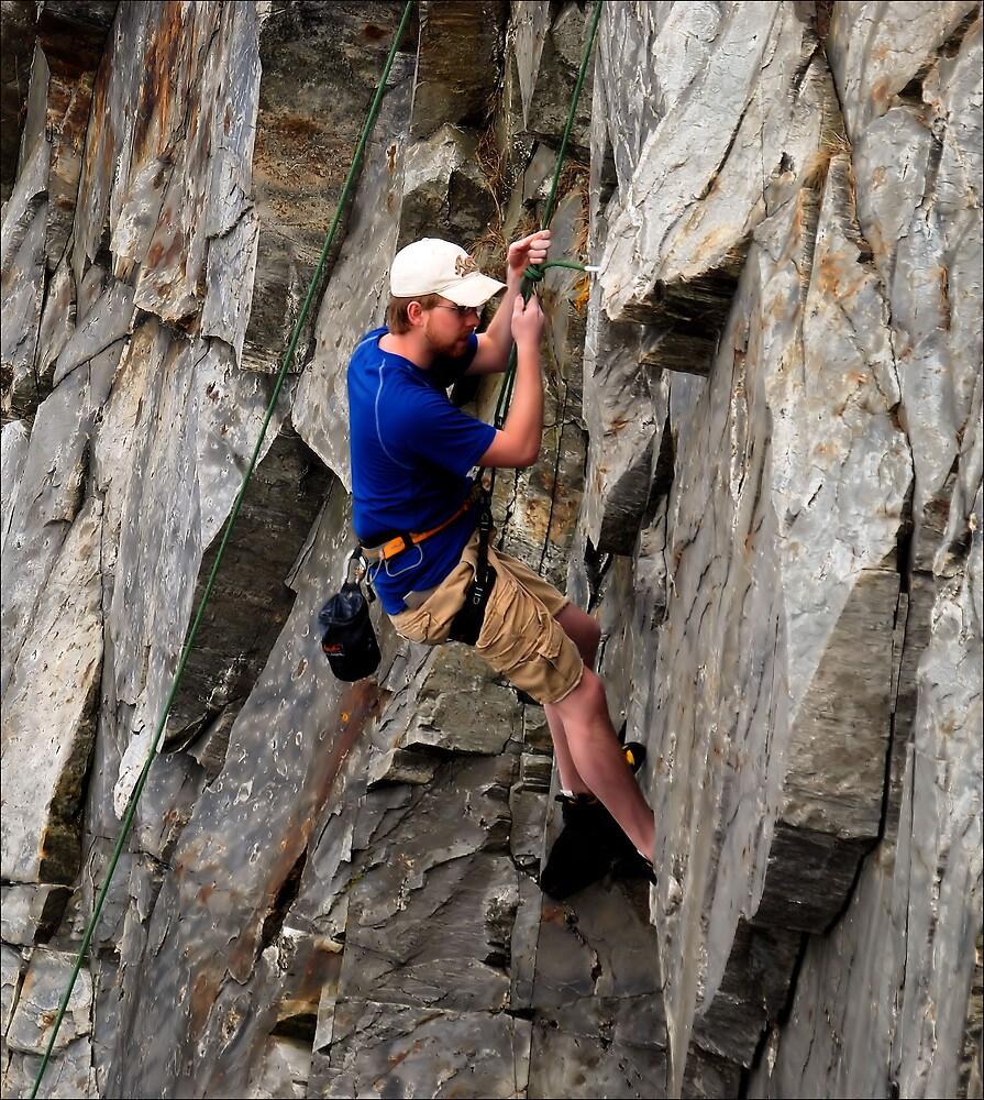 Not Avoiding Rocks by Donnie Shackleford