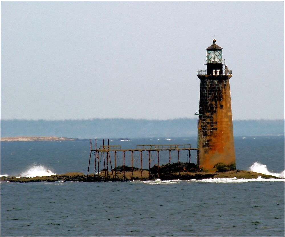 Rock Ledge Light by Donnie Shackleford