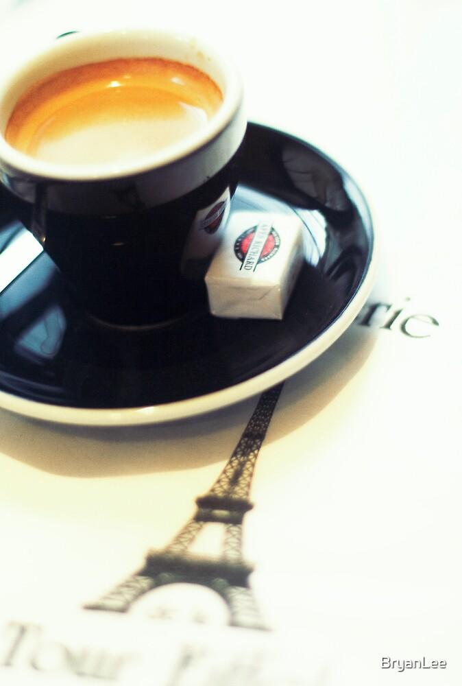 Coffee and Paris by BryanLee