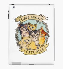 cats against cat call iPad Case/Skin