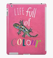 Life full of colour collection iPad Case/Skin