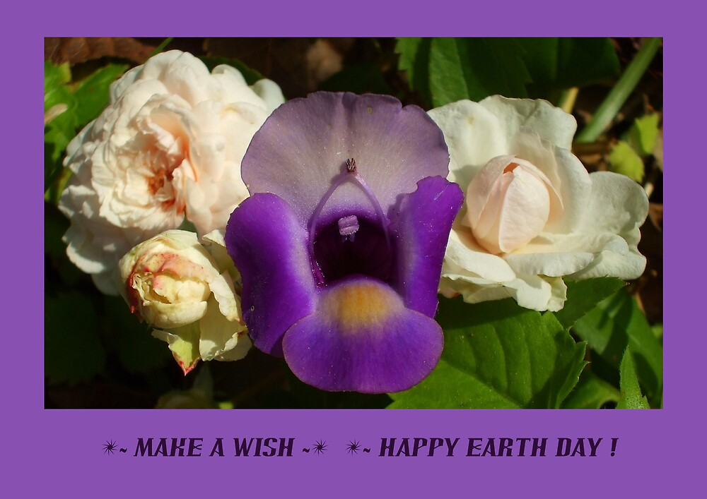 MAKE A WISH ~ HAPPY EARTH DAY! by artist4peace