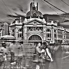 Flinders Street Station by Naomi Frost