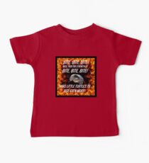 Bite bite bite, Gumball snapping turtle in flames Baby Tee