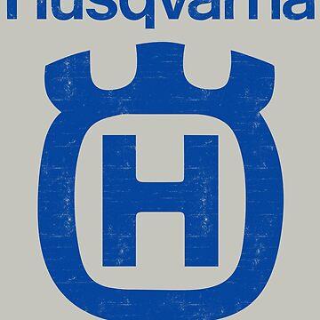 Vintage Husqvarna by WaveofLife