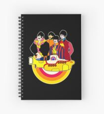 Yellow Submarine - Pop Art Spiral Notebook