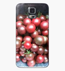 Black Cherry Tomatoes Case/Skin for Samsung Galaxy