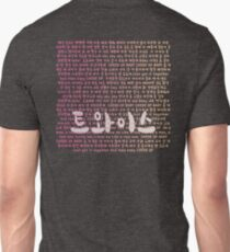 Twice Cheer Up Lyrics Shirt Kpop Unisex T-Shirt