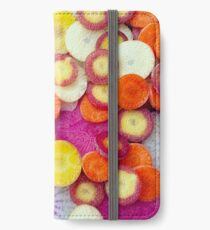 Fresh Sliced Roots iPhone Wallet/Case/Skin