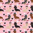 Dachshund theme park lover dog breed wiener dog gifts by PetFriendly