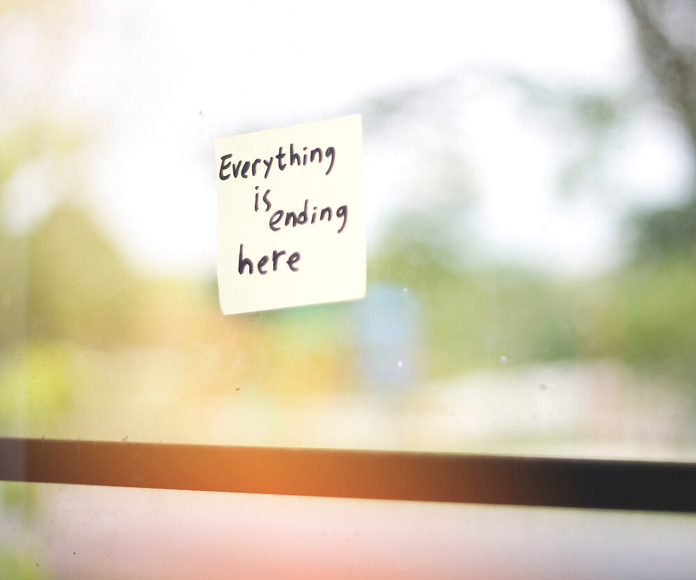 Everything is Ending Here by Raditya Fadilla