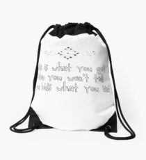 Mother's Day - This Is What You Get When You Won't Tell Your Kid's What You Want Drawstring Bag