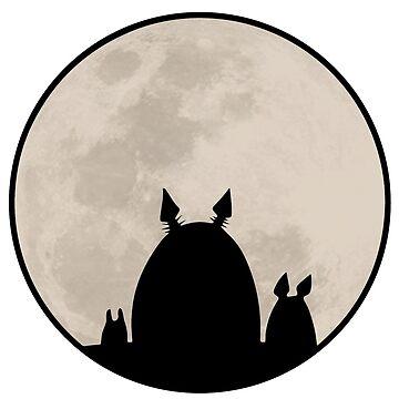 My Neighbor Totoro - By the Moon by callmehiwatt