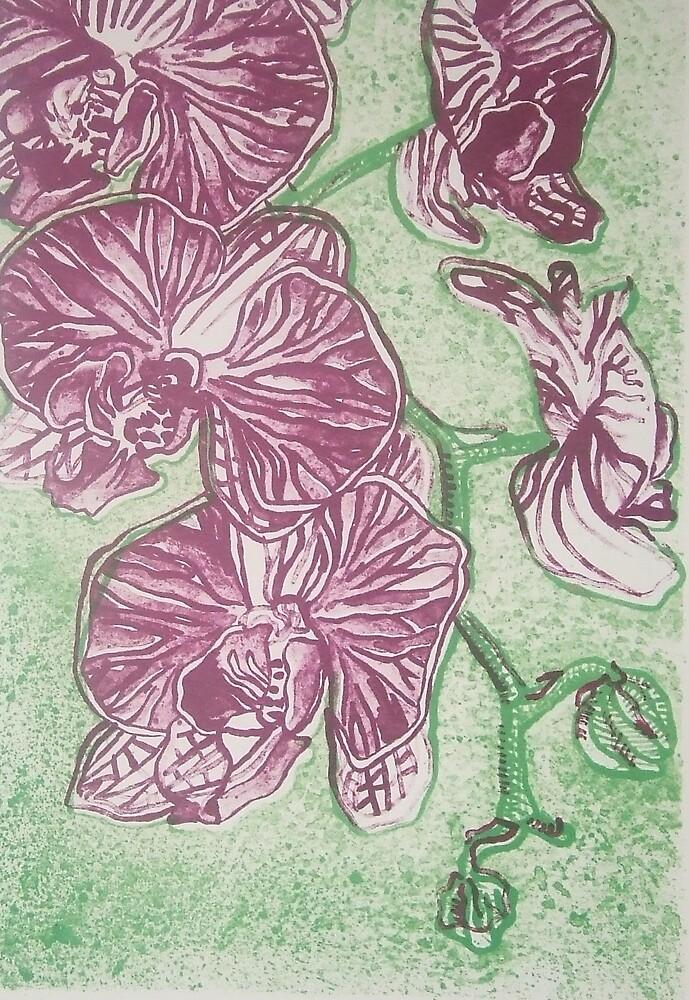 Orchids by Megan Lane