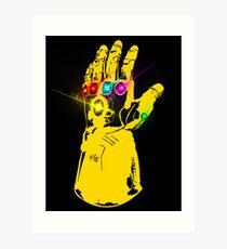 The Infinity gauntlet Art Print