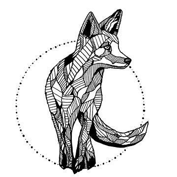 FOX ILLUSTRATION by ivysanchez