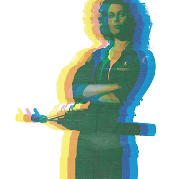 Ellen Ripley bringing the 70's back 2.0 by noauxia