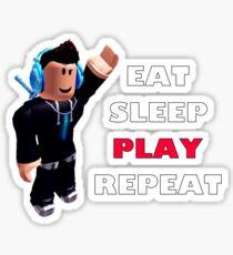 Roblox - Eat Sleep Play Repeat Sticker