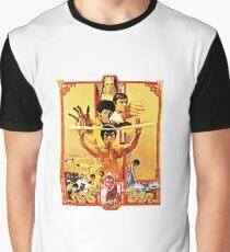 Betrete den Drachen Grafik T-Shirt