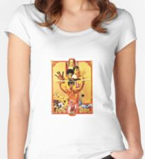 Enter the Dragon Women's Fitted Scoop T-Shirt