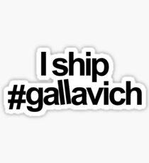 J'expédie #gallavich Sticker
