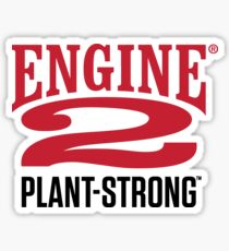Engine 2 Plant-Strong Sticker