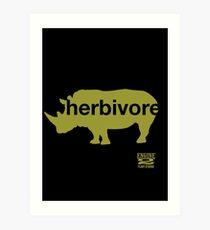 Herbivore Green Art Print