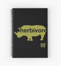 Herbivore Green Spiral Notebook