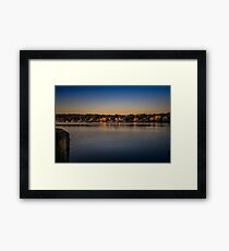 Mahone Bay from Oakland Framed Print