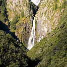 Devil's Punchbowl Falls, NZ by John Brotheridge