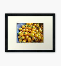 Heirloom Cherry Tomatoes Framed Print