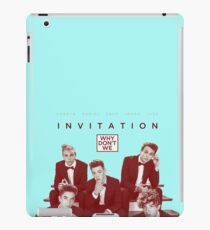 why dont we colloge iPad Case/Skin