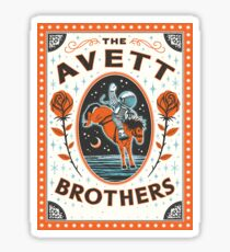Art The Avett Brothers Thalia Mara Hall Sticker